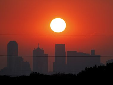 An Aug. 24, 2011, file photo of the downtown Dallas skyline.