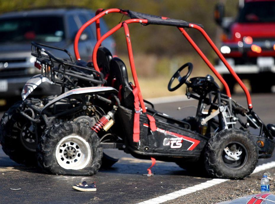 Un carrito motorizado go-kart se impactó contra una SUV matando a dos niños el sábado en College Mound.