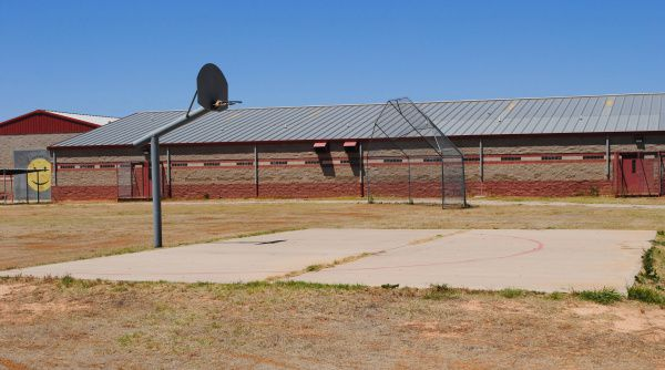 The empty Bill Clayton Detention Center sits on 30 acres in Littlefield, Texas, northwest of Lubbock.
