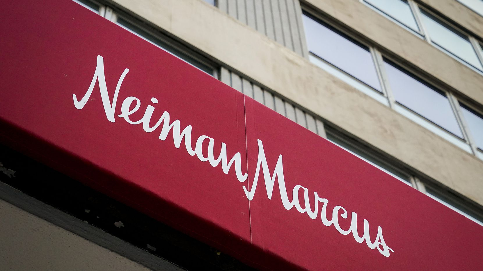 Exterior view of the Neiman Marcus flagship store on Main Street downtown on Thursday, Aug. 13, 2020, in Dallas. (Smiley N. Pool/The Dallas Morning News)