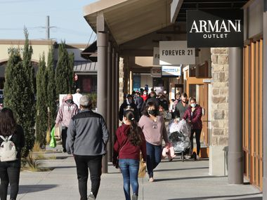 Allen Premium Outlets will be one of four local shopping centers with COVID19 testing sites.