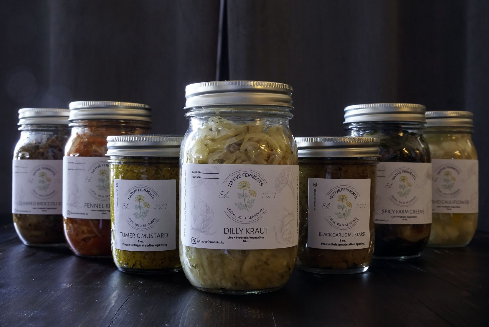 Jessica Alonzo's Native Ferments at Petra and the Beast in Dallas
