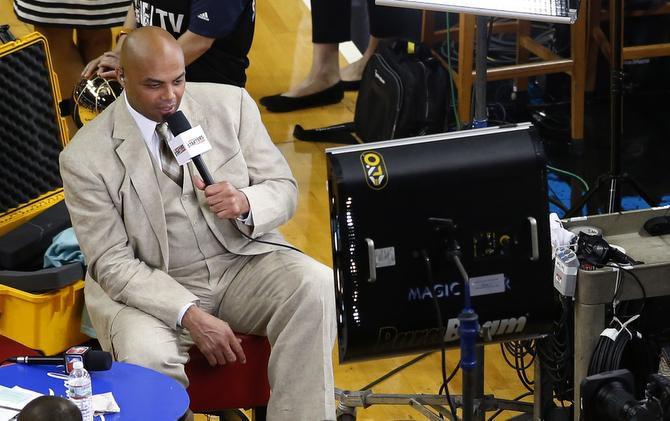 El comentarista de la cadena TNT y exjugador de la NBA, Charles Barkley, suele hacer comentarios controvertidos.