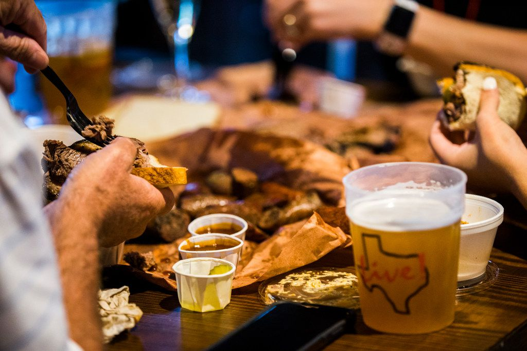 Craving some 'cue? Dallas favorite Lockhart Smokehouse has its own restaurant at Texas Live, the new entertainment complex near Globe Life Park in Arlington.