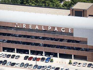 RealPage's headquarters sits along U.S. 75 in Richardson.