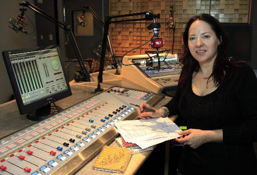 Gini Mascorro, photographed here on Nov. 4, 2009, has been essential in the evolution of Dallas radio station KXT.