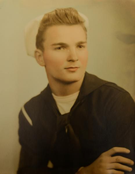 Veteran Willard Williams of Rowlett was 17 when he joined the Merchant Marine in 1945.