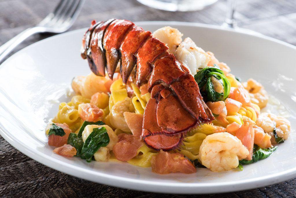 Princi Italia's Valentine's Day menu will include Saffron Fettuccini & Canadian Lobster.