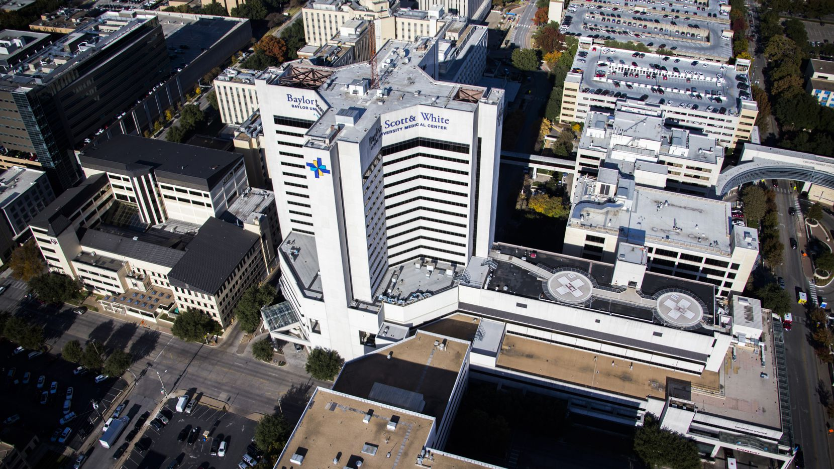 Baylor Scott & White Medical Center in Dallas. Baylor and other wealthy hospitals not only weathered the COVID-19 crisis, they thrived.