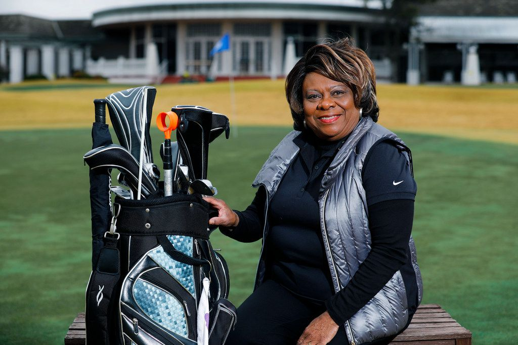 """I love golf with a passion,"" says Dallas golf pro Gladys Lee. ""But it's hard when it comes to making a living in it ... as a minority."""