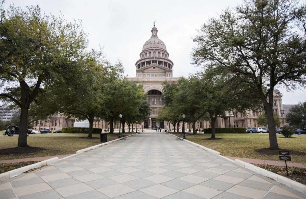 The Texas state capitol on Thursday, February 26, 2015 in Austin, Texas.   (Ashley Landis/The Dallas Morning News)
