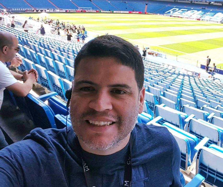 Adrián Alvarado, 42, vino de vacaciones a Estados Unidos y se quedó varado cuando el gobierno de Honduras cerró sus fronteras por la crisis del coronavirus. No ha recibido ninguna indicación de su gobierno para que pueda ser repatriado.