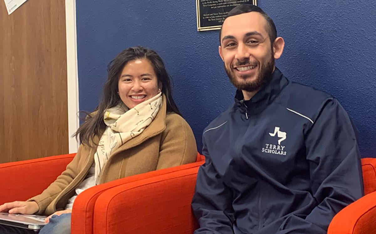 UT Dallas students Jeannie Nghiem and Ramzi Taim founded the non-profit COOKED-19 to provide meals to hospitals most impacted by COVID-19.