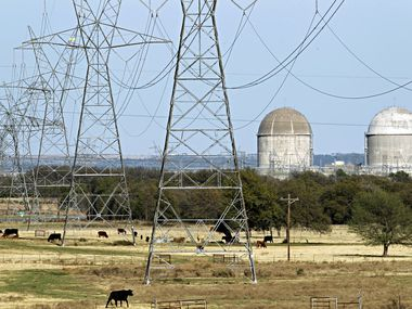 Luminant's power generation plants, including the nuclear facility near Glen Rose, have lost about two-thirds of their value since 2009. (Tom Fox/The Dallas Morning News)