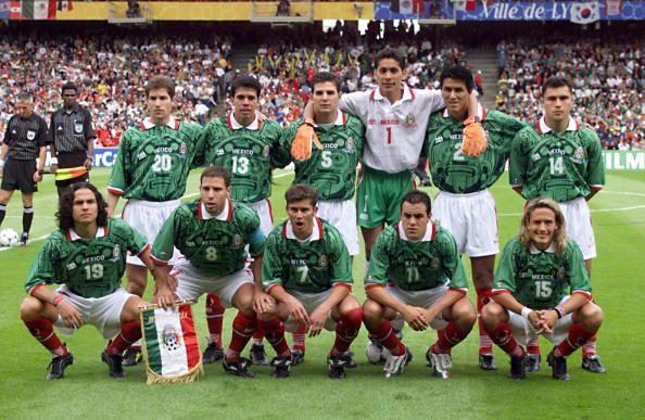Mexico en Francia 1998 (GERARD MALIE/AFP/Getty Images)