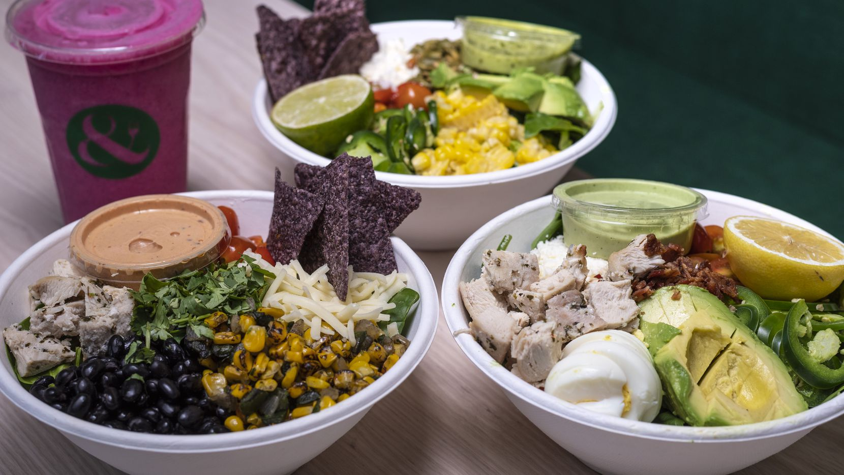Crisp & Green is a new franchise from Minnesota. Its first out-of-state restaurant is in Dallas, across the street from Southern Methodist University and near Snider Plaza.