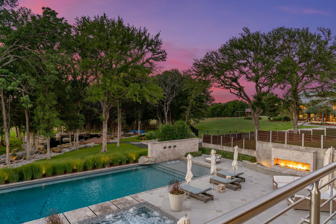 Take a look at the home at 1355 Wendy Lane in Lucas, TX.