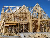 Builders took out more than 20% fewer home construction permits in September.  (Lola Gomez/The Dallas Morning News)