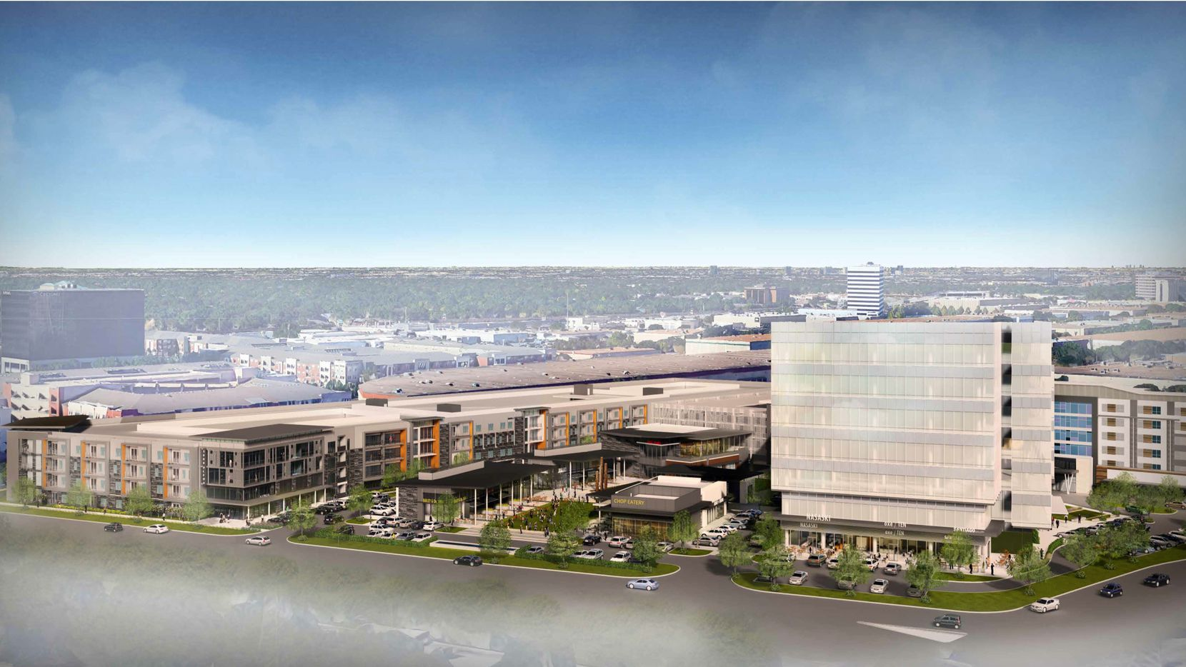Buchanan Street Partners and CarVal Investors are funding the first phase of the Alpha West development near the Galleria Dallas mall.