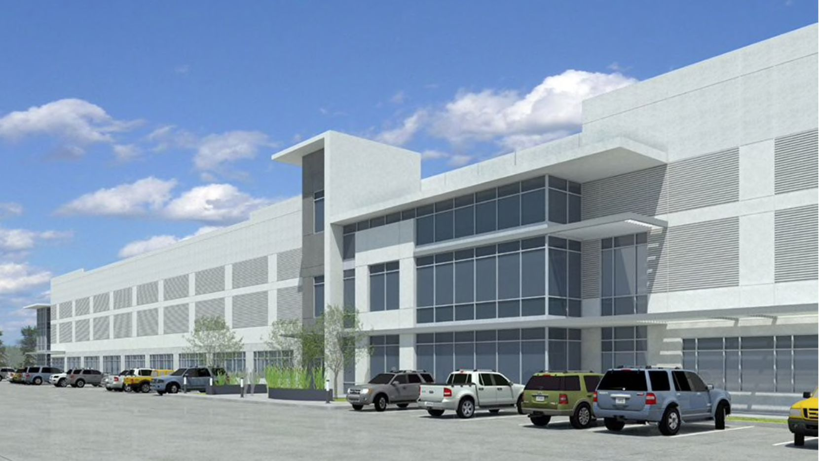 Bandera Ventures teamed up with Invesco Real Estate to build the speculative industrial development south of Interstate 20