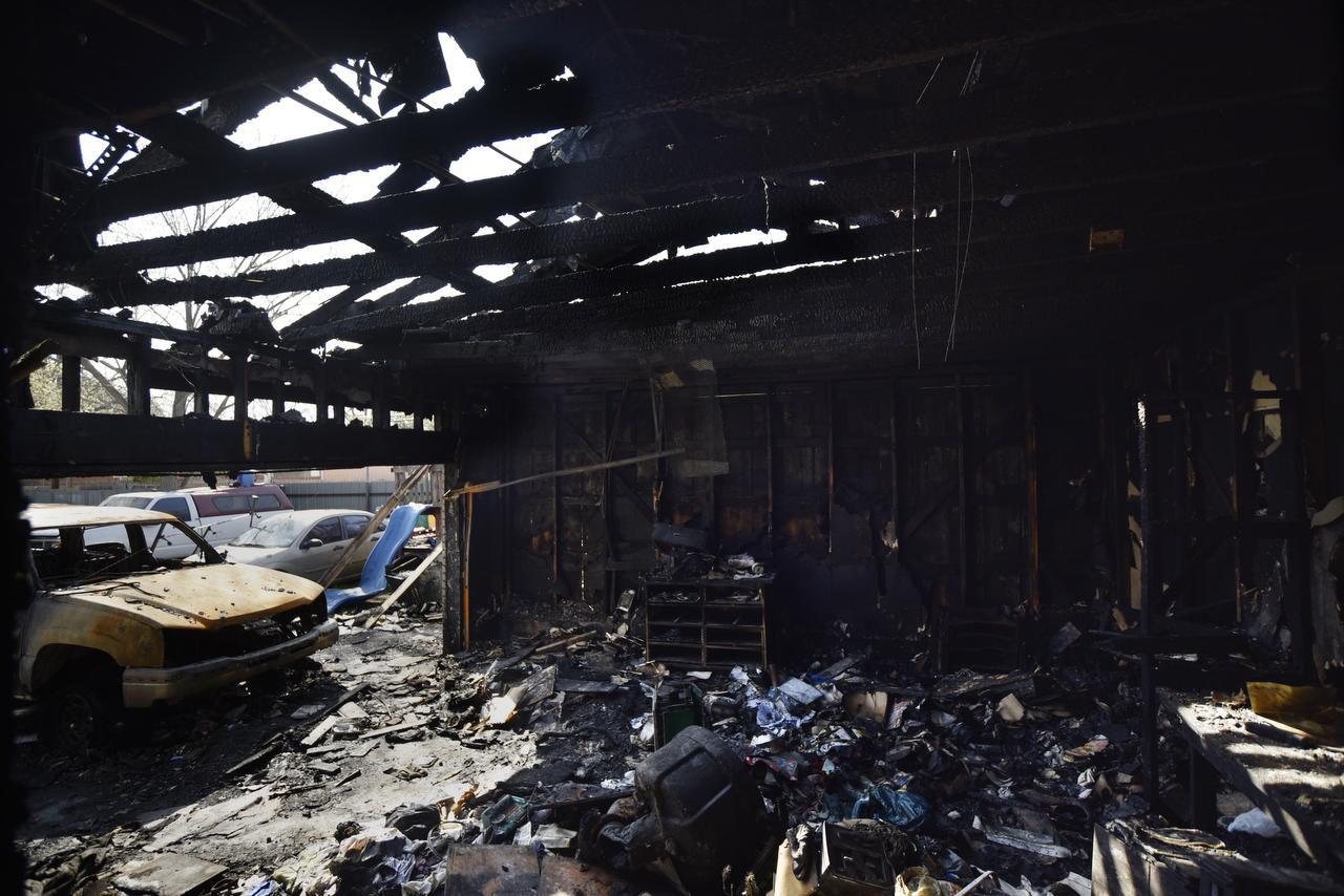 El incendio de la casa que rentaba la familia Tobar se habría debido a un corto circuito BEN TORRES/AL DIA