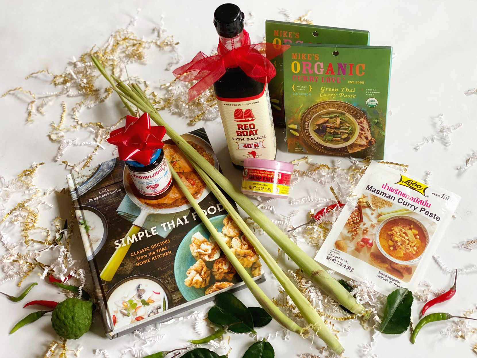 Thai food gift box for the holidays