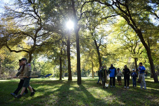 Plano's Bob Woodruff Park is pictured in this file photo.