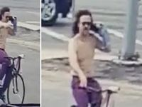 Dallas police are looking for this man, who was reported for firing into a vehicle.