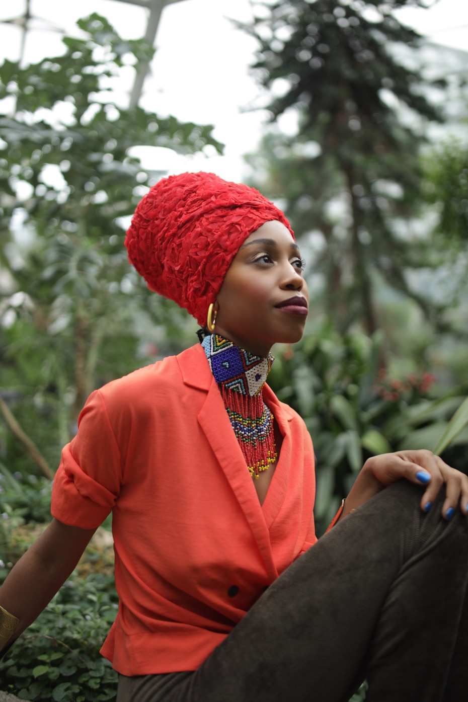 """Jazzmeia Horn inserted a comma into her cover of a Beatles' hit for a subtle but important difference: """"Money Can't Buy Me, Love."""""""