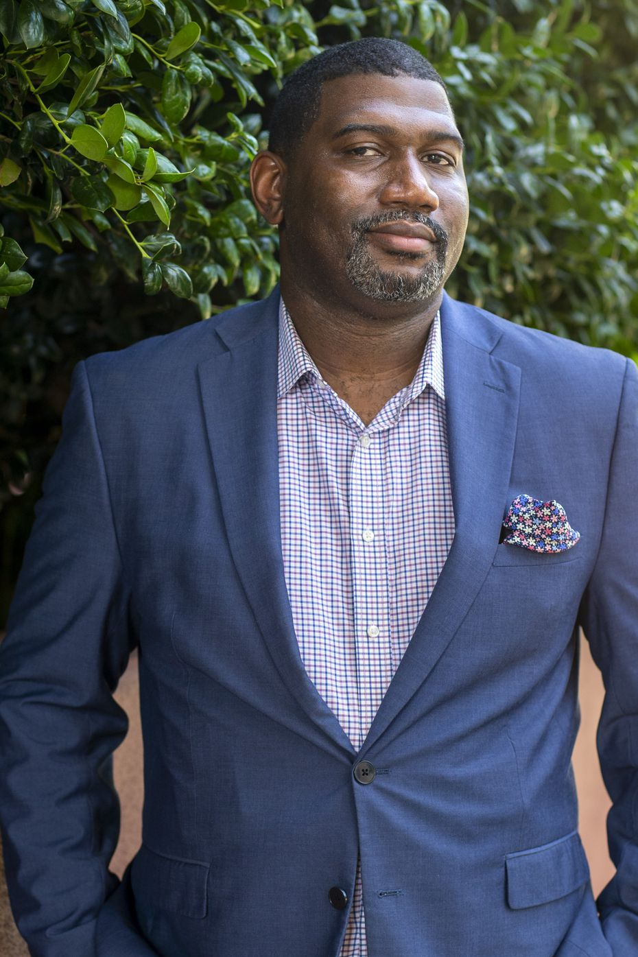Vice President of All Stars Project, Inc. Antoine Joyce (Lynda M. Gonzalez/The Dallas Morning News)