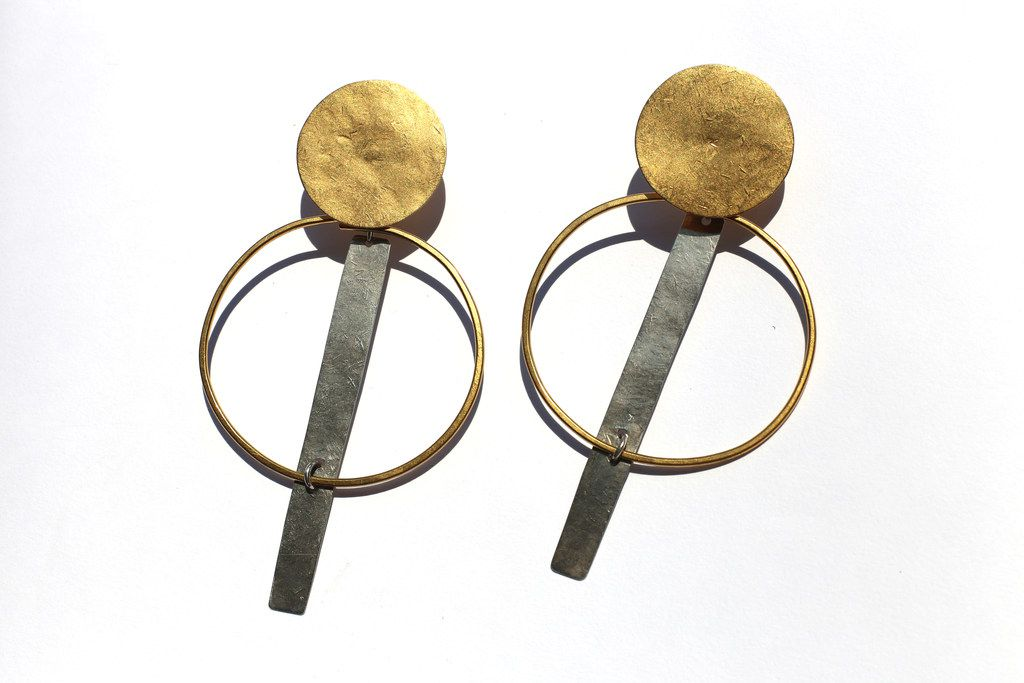 Annie Costello Brown earrings, $220