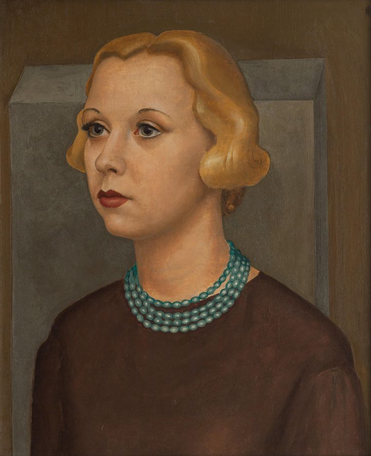 Portrait of Nell, Perry Nichols, 1936