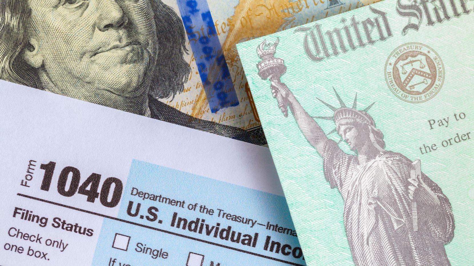 Si una persona elegible no recibe su pago del segundo cheque de estímulo, podrá reclamarlo en la declaración de impuestos del 2020, que se debe hacer este año. Se deberá hacer en el formulario 1040 del IRS.