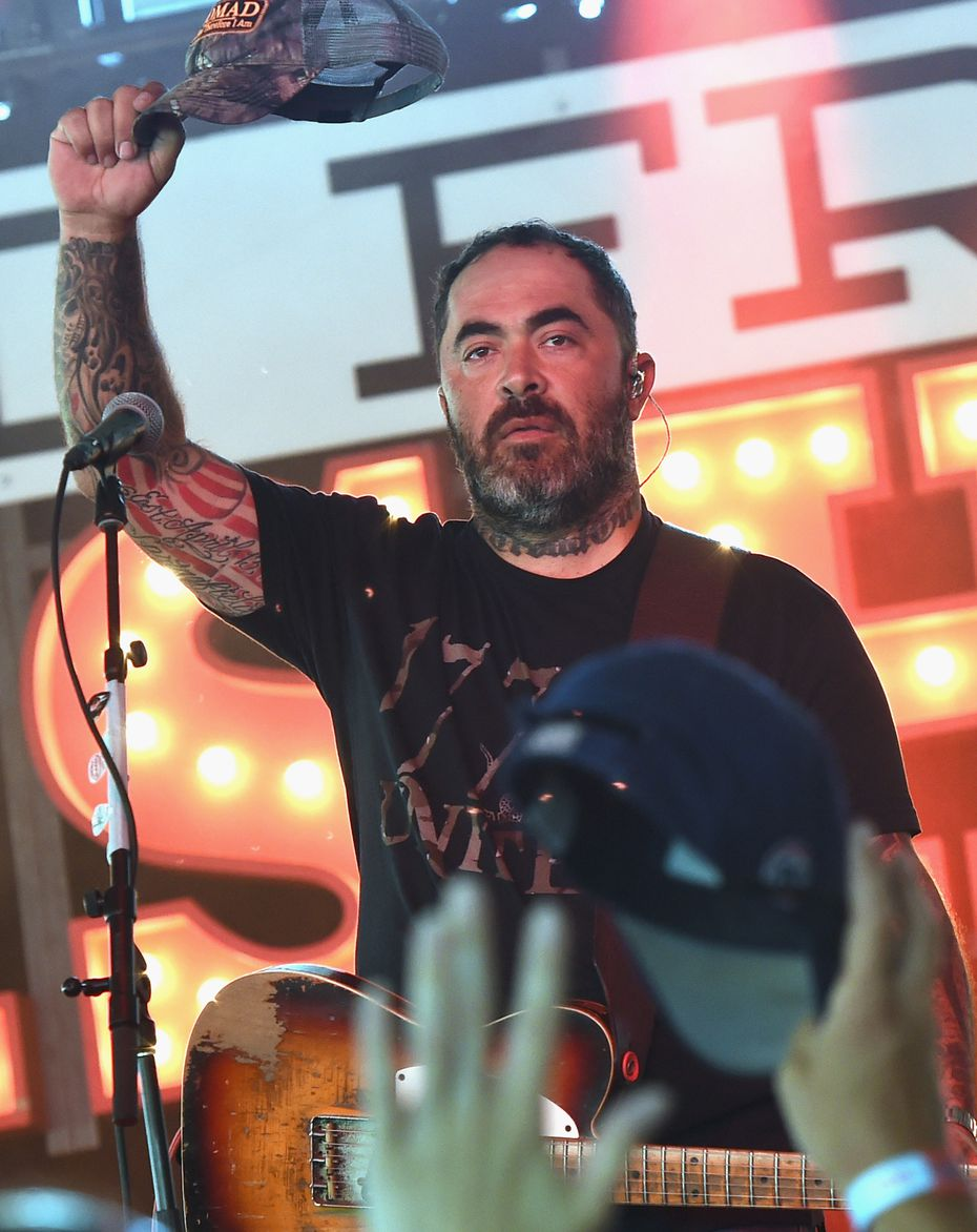 In this 2016 file photo, Aaron Lewis performs in Chicago.