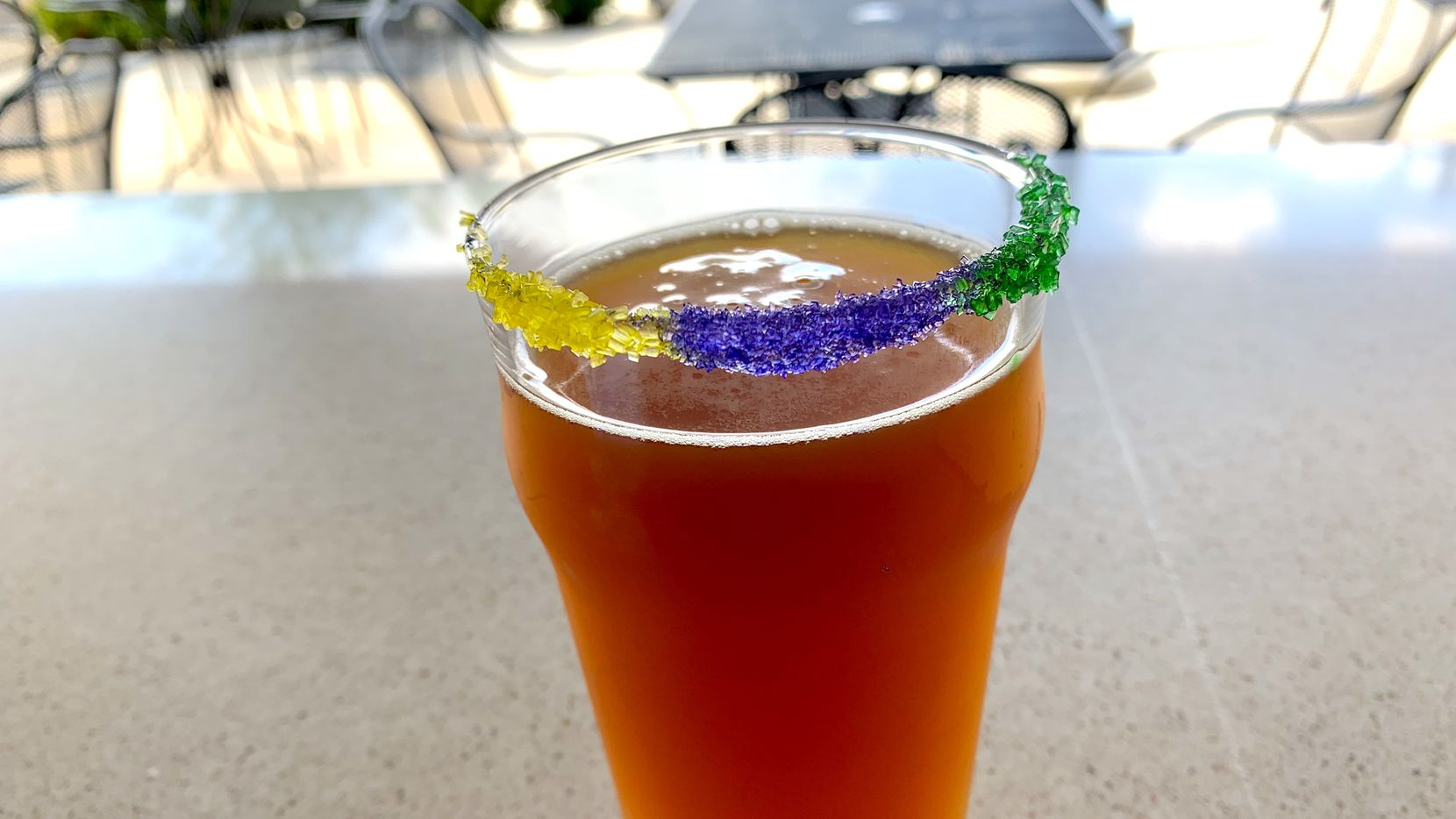 Neutral Ground Brewing in Fort Worth sells King Cake beer.