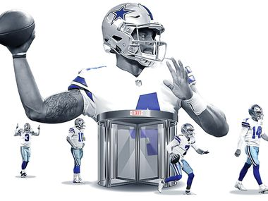 Nearly a month after Dak Prescott suffered a season-ending ankle injury, the Cowboys prepare to start their fourth different quarterback in a season for only the third time in franchise history (2001 and 2015).