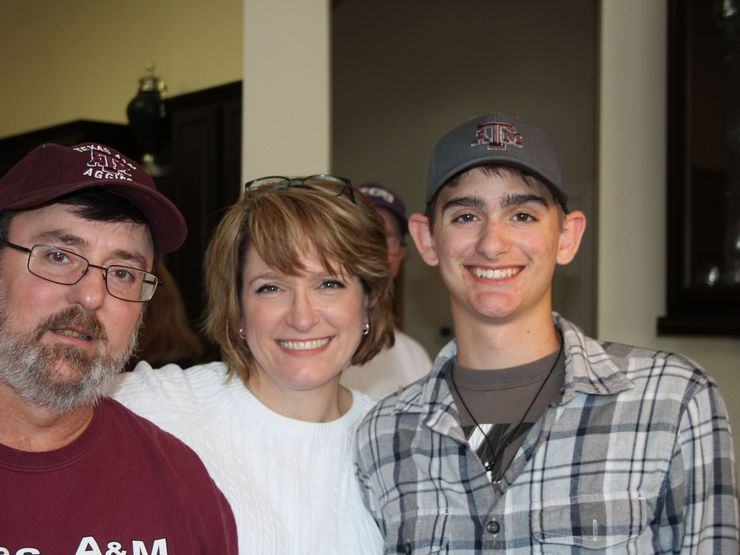 Will Brannon of Hallsville, Texas, died in 2017 when he was 17 in a sailing accident. His mast hit a sagging power line. He and two fellow Boy Scouts were electrocuted. Will's parents, Stan and Michelle. shown here with Will, led a fight to get a new law passed, and it did. But then they say the PUC ignored it.