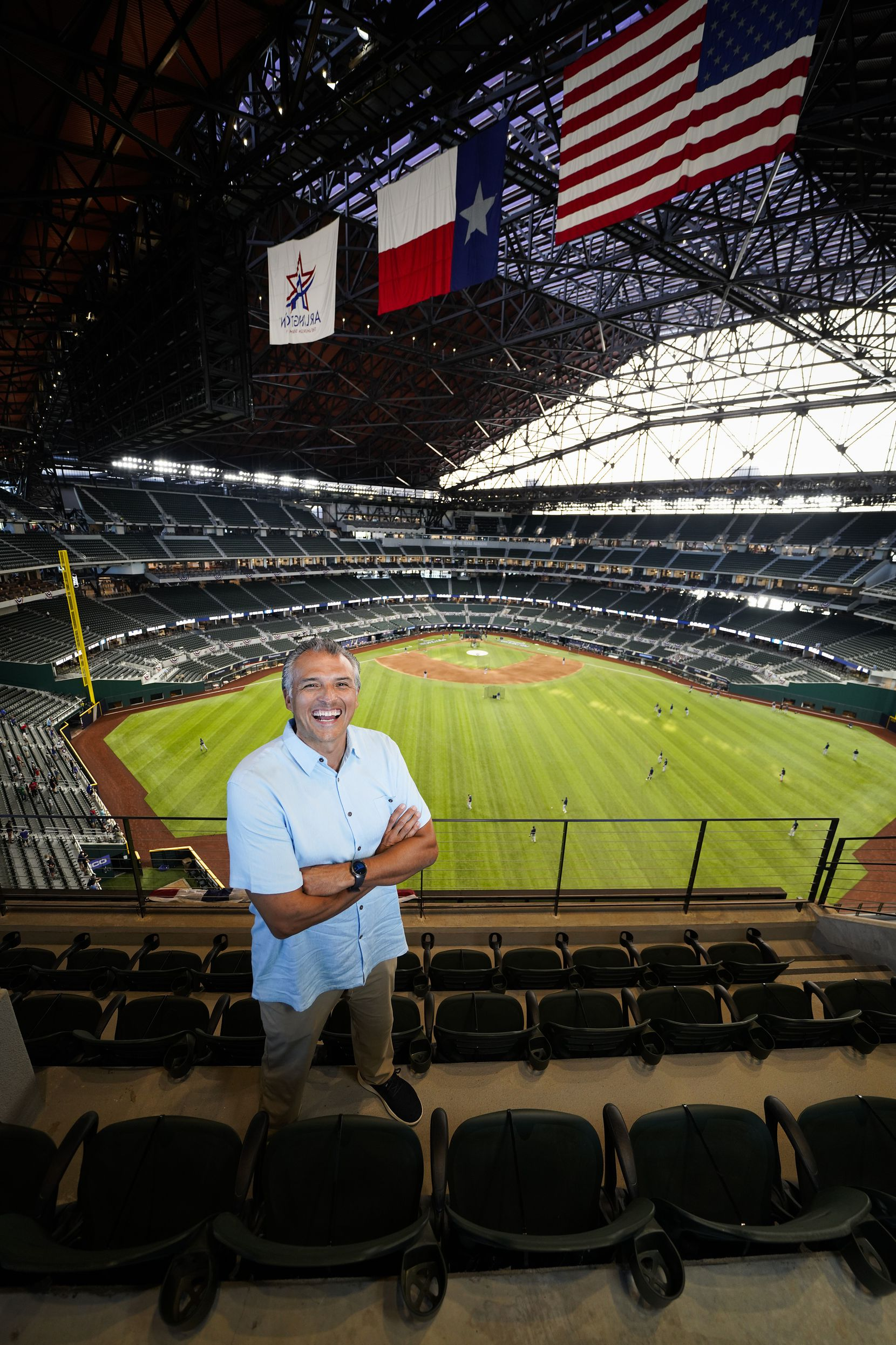 It was the thrill of a lifetime for Fred Ortiz, HKS lead designer of Globe Life Field, before watching Game 1 of a National League Championship Series in October.