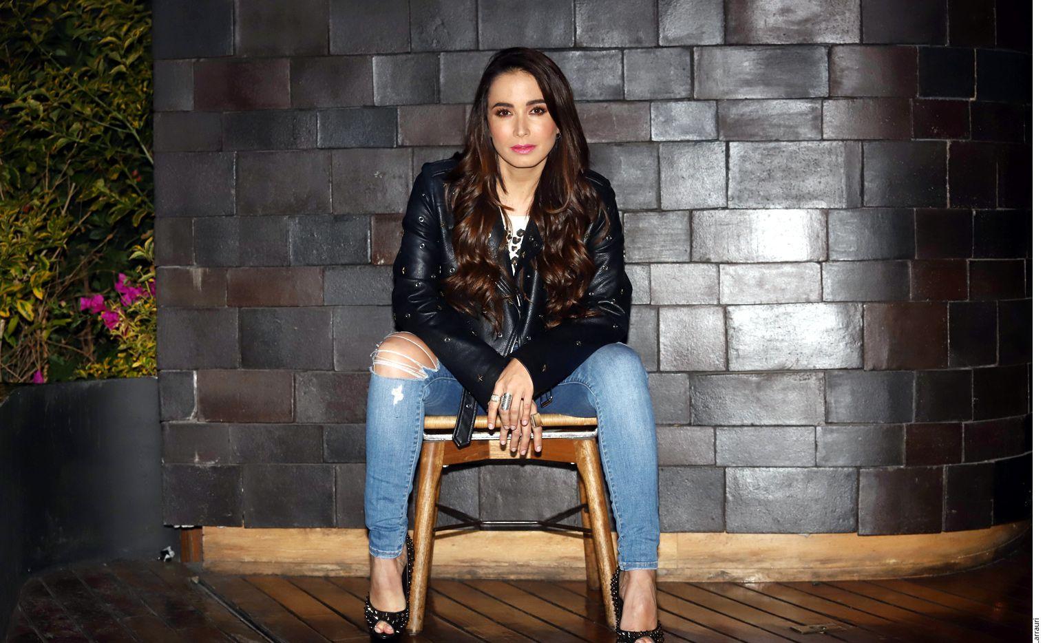 La actriz colombiana Majida Issa analizó documentos, videos y conciertos en vivo para encarnar con credibilidad a Alejandra Guzmán. (AGENCIA REFORMA)