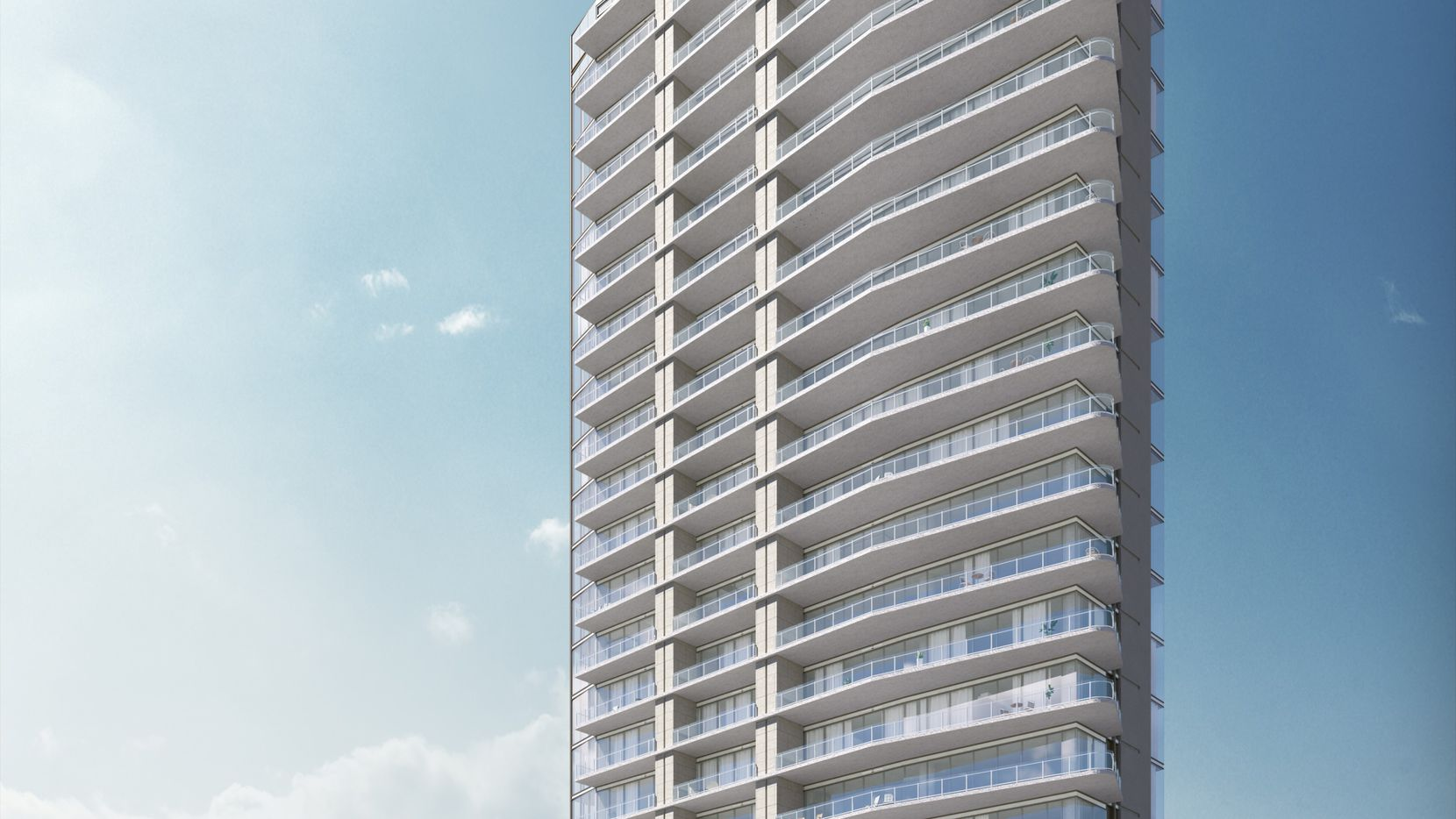 The Windrose Tower at Legacy West will have 27 floors of condominiums.
