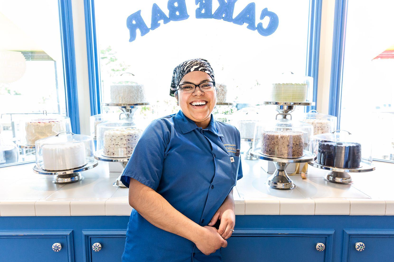 Abigail de Jesus, 27, cake decorator at Cake Bar