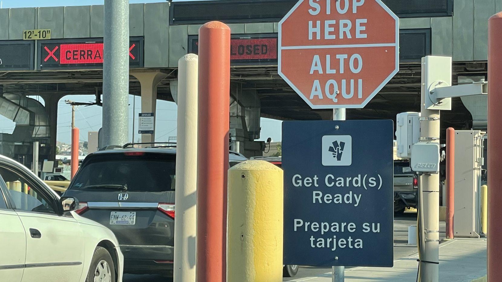 La frontera terrestre entre Estados Unidos y México ha estado cerrada parcialmente desde el 21 de marzo del 2020 por la pandemia de covid-19.