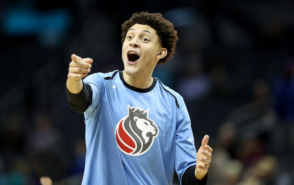 The Sacramento Kings traded Justin Jackson to the Dallas Mavericks just before the NBA's 2019 trade deadline. (Photo by Streeter Lecka/Getty Images)