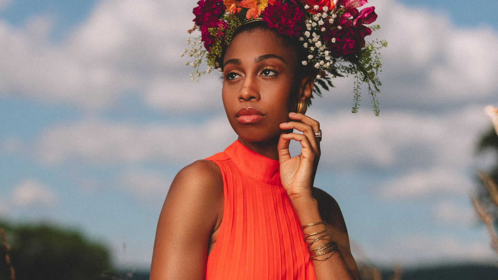 """Jazzmeia Horn lost her usual paycheck in 2020 when concerts shut down because of the pandemic. But rather than wallow, the Grammy-nominated vocalist started her own label, Empress Legacy Records, and financed and recorded her third album, """"Dear Love,"""" which is out now."""