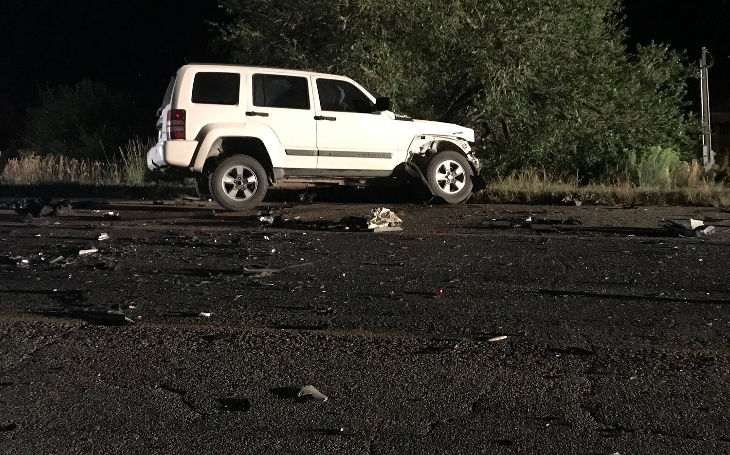 Kylie Rae Harris, 30, died in a crash just north of Taos, N.M., her publicist confirmed. Authorities said a 16-year-old girl from nearby San Cristobal, N.M., also died.