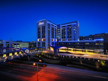 Children's Health's flagship hospital is about 3 miles north of downtown Dallas.