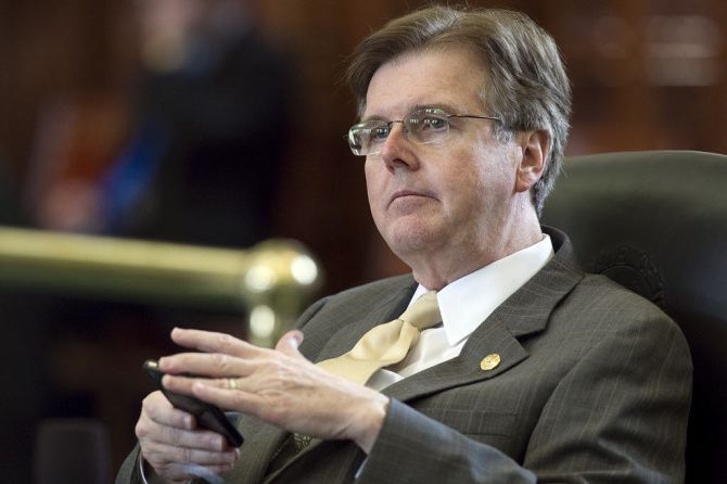 State Sen. Dan Patrick has been named by staffers at the Legislative Budget Board as a primary reason the agency's funding, staffing and morale are dwindling.