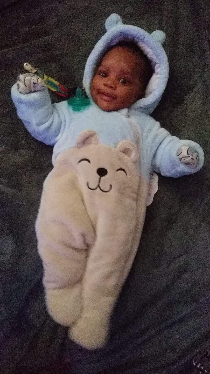 Ashton Smith was 3 months old when he died earlier this month. Police have charged a teenage girl with his death.