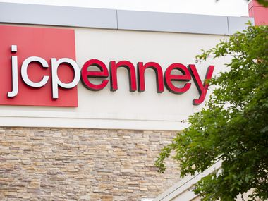 The exterior of the J.C. Penney at the Timber Creek Crossing shopping center in Dallas.