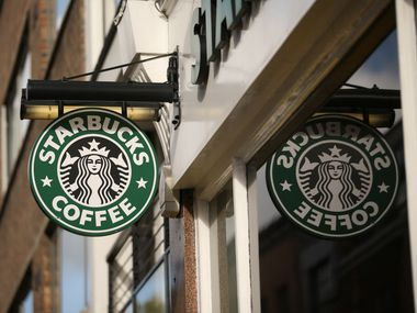 Starbucks has added more items and has lots of brand loyalty.